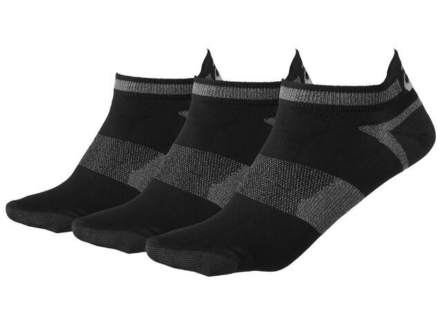 asics Lyte Socks 3 Pack Black